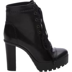 Combat Schutz Boots Black