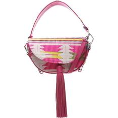 Saddle Schutz Bag Print Neon Pink