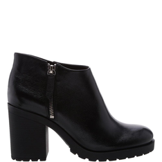 Short Schutz Ankle Boot Black
