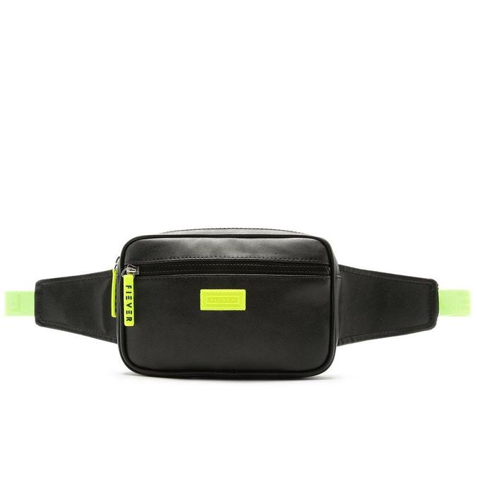 Pochete Fiever Preta e Verde Neon