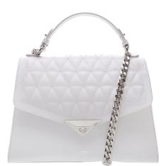 Handbag Schutz Crossbody Matelassê White