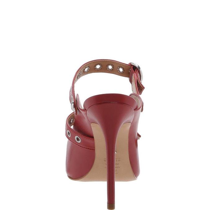 New Schutz Quereda Strap Mule High Changeable Red