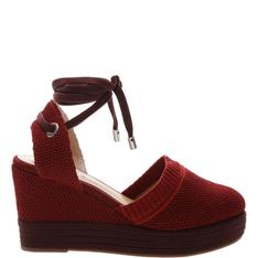 Sandália Schutz Plataforma Sock Red