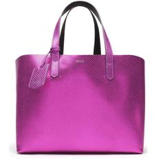 Shopping Schutz Metallic Snake Pink
