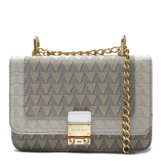 Crossbody Schutz Jacquard Triangle White