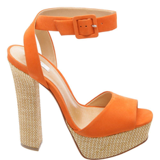 Sandália Schutz Seventies Sun Orange