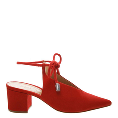 SAPATO Schutz BICO FINO LACE UP RED