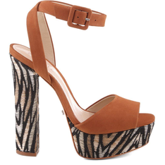 Sandália Schutz Seventies Fever Animal Print