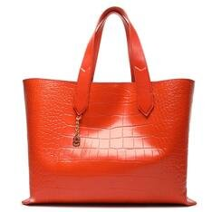 Shopping Schutz Bag Alexia Texture Orange