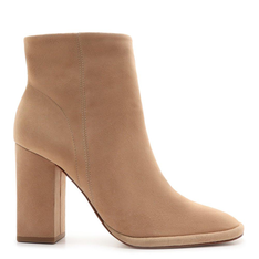 Bota Schutz Salto Suede Honey