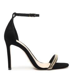 Sandália Schutz Minimal Glam Black
