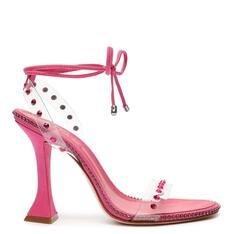 Sandália Schutz Taça Vinil Glam Pink