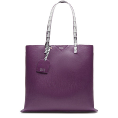 Shopping Schutz Bag Minimal Triangle Purple