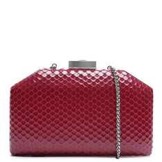 Clutch Schutz Serena Bright Snake Red