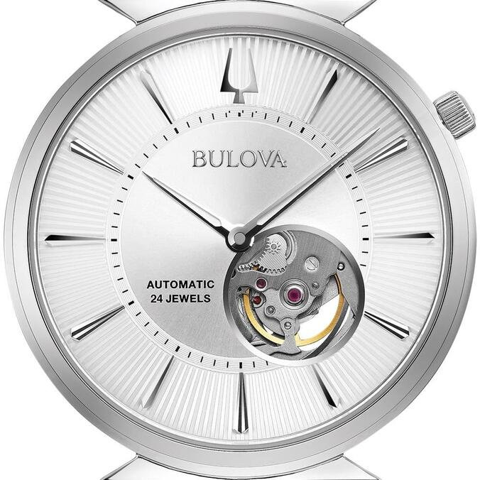 Relógio Bulova Masculino Aço - 96A235 by Vivara