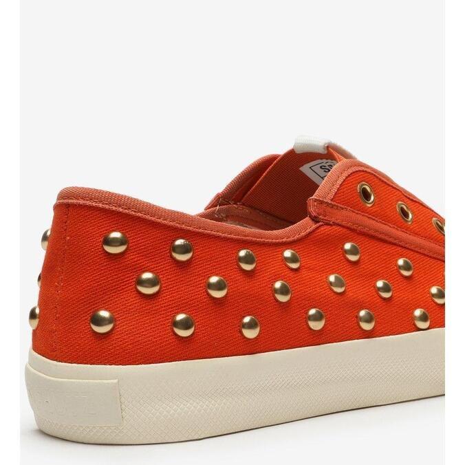 Sneaker Schutz Smash Canvas Studs Orange