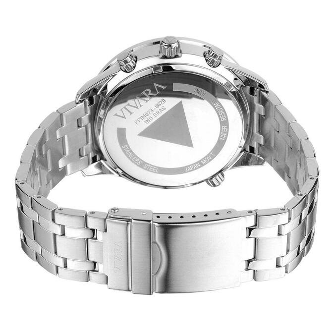 Relógio Vivara Masculino Aço - DS13737R0E-1 by Vivara