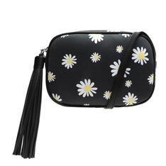 Crossbody Schutz Kate Neoprene Floral Black