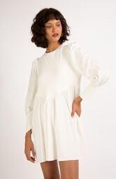 Vestido Le Molleton Leona Off White