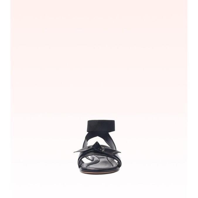 Clarita Birman Elastic Flat Black