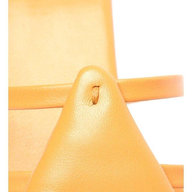 Sandália Schutz Mule Triangle Orange