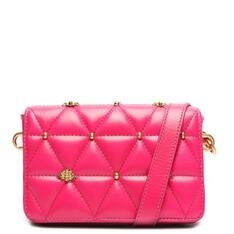 Bolsa Schutz Tiracolo Pequena Aria Matelassê Pink