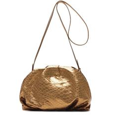 Clutch Schutz Avril Croco Metallic Bronze