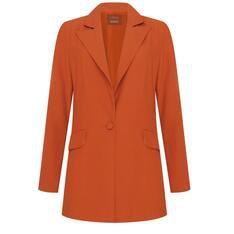Ginger Schutz x Schutz Blazer Orange