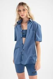 Camisa Baw Essential Navy