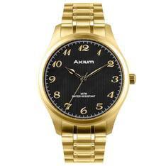 Relógio Akium Masculino Aço Dourado - TMG6986N1B by Vivara