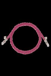 Corrente Óculos Pop Pink - Prata 925