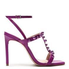 Sandália Schutz Stiletto Full Color Studs Violet