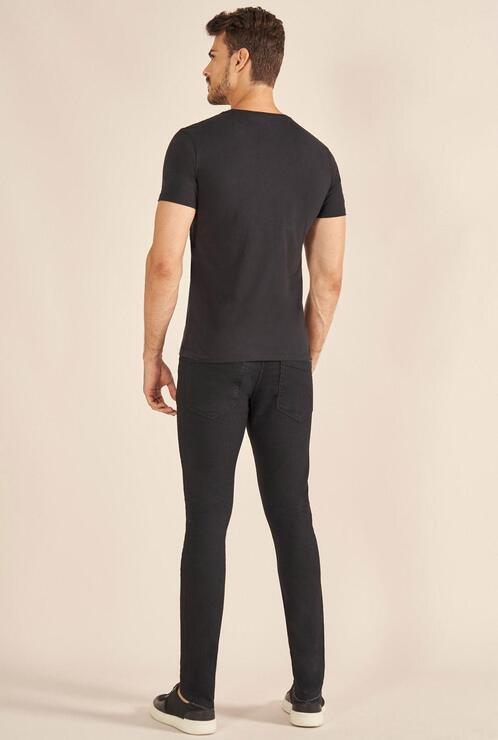 Camiseta Acostamento Black Floral