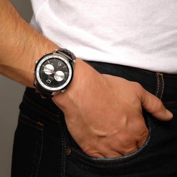 Relógio Vivara Masculino Couro Preto - DS13700R1L-2 by Vivara