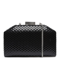 Clutch Schutz Serena Bright Snake Black