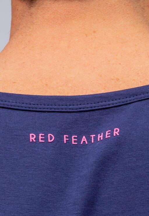 Regata Básica Marinho Red Feather