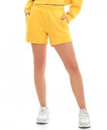 Shorts M3cbs Com Bolso Amarelo Amber
