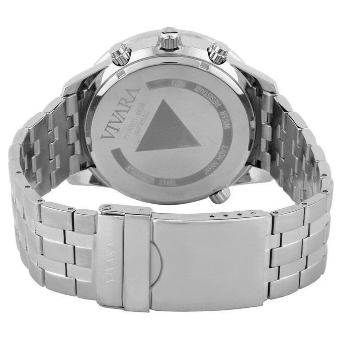 Relógio Vivara Masculino Aço - DS08714R1K-1 by Vivara
