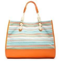 Shopping Schutz Bag Janis Stripes Tangerine