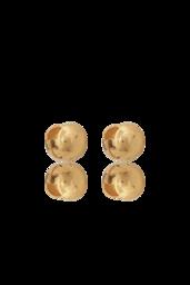 Brinco Rock - Prata 925 com banho de ouro