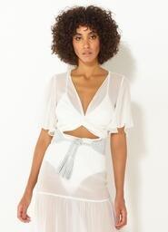 Blusa Jade Triya Off White