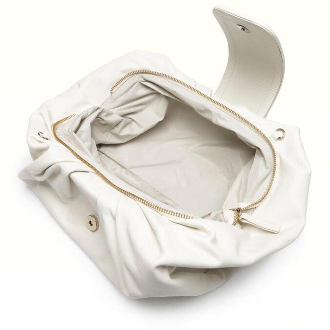 Bolsa Alme Branco Pétala Iara