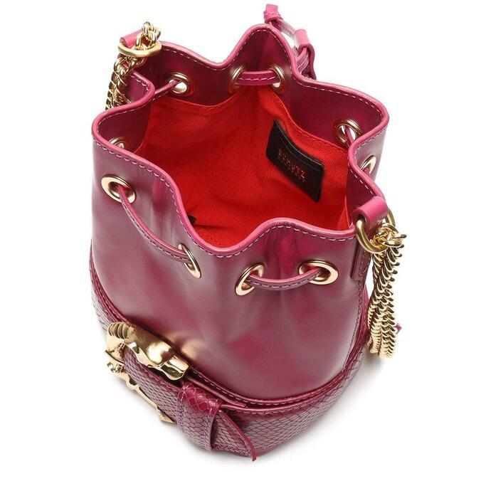 Bolsa Schutz Bucket Pequena Fierce Pink
