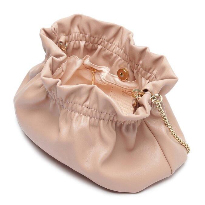 Bolsa Arezzo Bucket Rosa Média Corrente