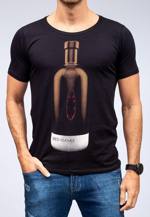 Camiseta The Black Bottle