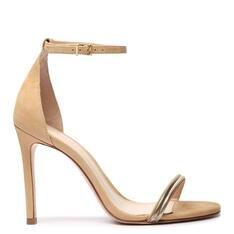 Sandália Schutz Minimal Glam Natural