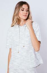 Blusa Le Molleton Bianca Tweed
