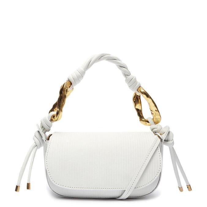 Bolsa Schutz Tiracolo Pequena Cora Branca