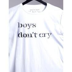 Camiseta Boys DonT Cry Branco Spirito Santo