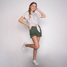 Camisa Spezzato Teen Cindy